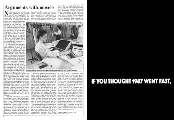 Article Preview: Arguments with muscle, March 1988 | Maclean's