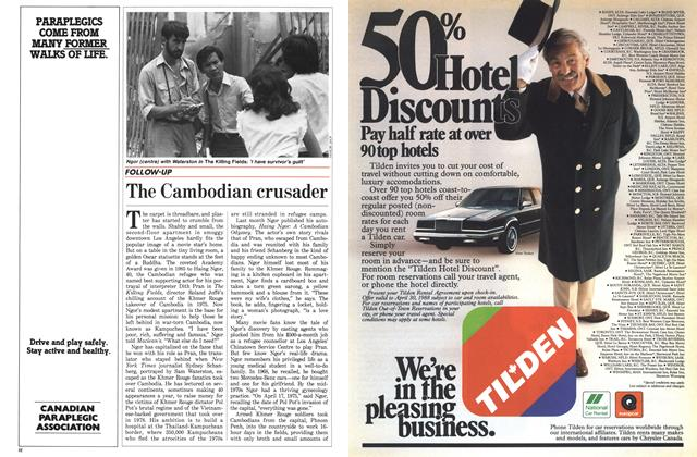 Article Preview: The Cambodian crusader, April 1988 | Maclean's