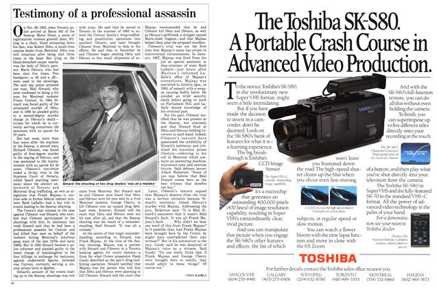 Article Preview: Testimony of a professional assassin, April 1988 | Maclean's