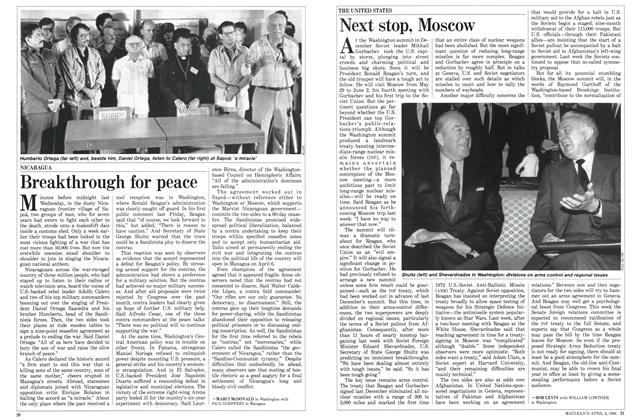 Article Preview: Next stop, Moscow, April 1988 | Maclean's