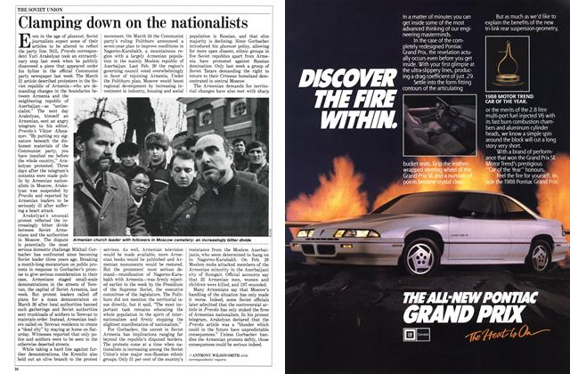 Article Preview: Clamping down on the nationalists, April 1988 | Maclean's