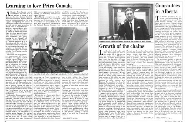 Article Preview: Growth of the chains, April 1988 | Maclean's