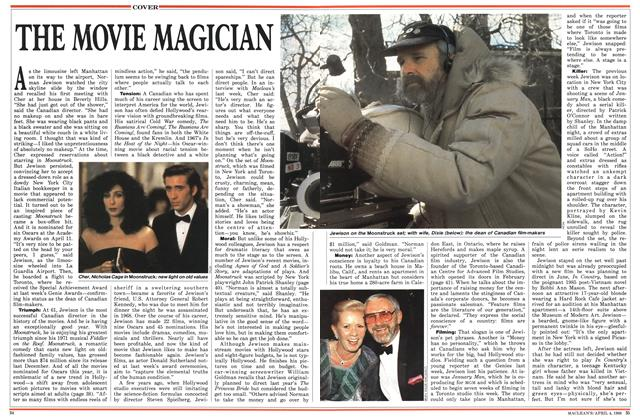 Article Preview: THE MOVIE MAGICIAN, April 1988 | Maclean's