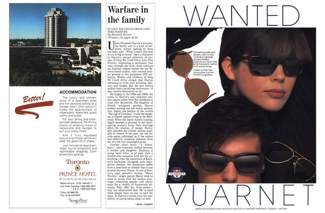 Article Preview: Warfare in the family, April 1988   Maclean's