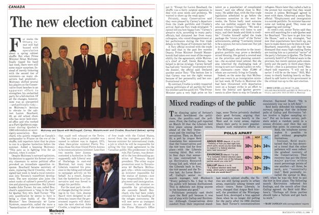 Article Preview: Mixed readings of the public, April 1988 | Maclean's