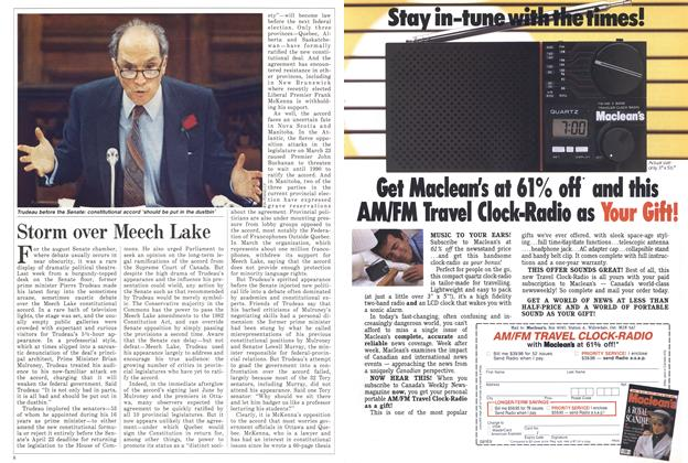 Article Preview: Storm over Meech Lake, April 1988 | Maclean's