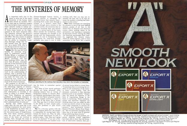 Article Preview: THE MYSTERIES OF MEMORY, April 1988 | Maclean's