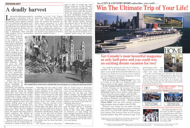 Article Preview: A deadly harvest, April 1988   Maclean's