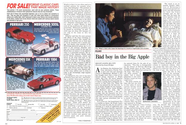 Article Preview: Bad boy in the Big Apple, April 1988 | Maclean's