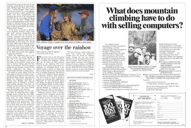 Article Preview: Voyage over the rainbow, April 1988 | Maclean's