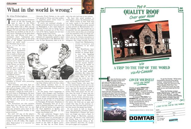 Article Preview: What in the world is wrong?, April 1988 | Maclean's
