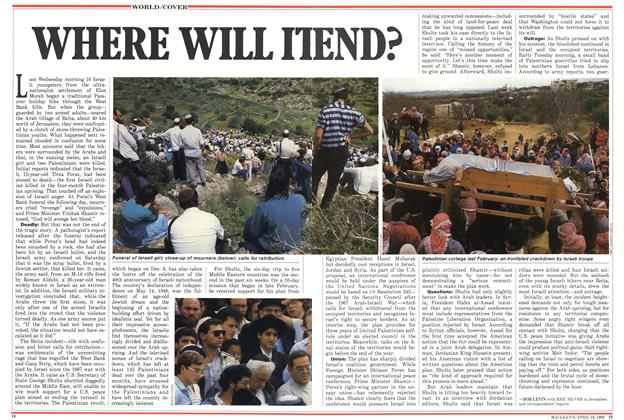 Article Preview: WHERE WILL IT END?, April 1988 | Maclean's