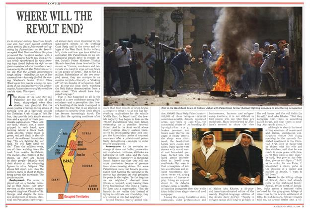 Article Preview: WHERE WILL THE REVOLT END?, April 1988 | Maclean's