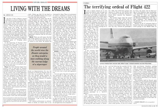 Article Preview: LIVING WITH THE DREAMS, April 1988 | Maclean's