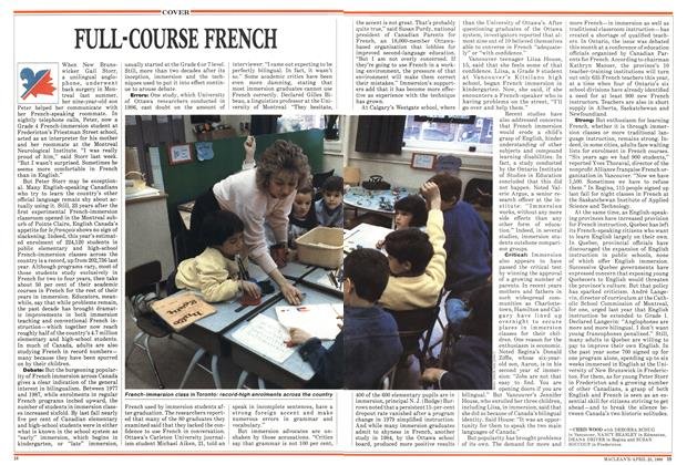 Article Preview: FULL-COURSE FRENCH, April 1988 | Maclean's