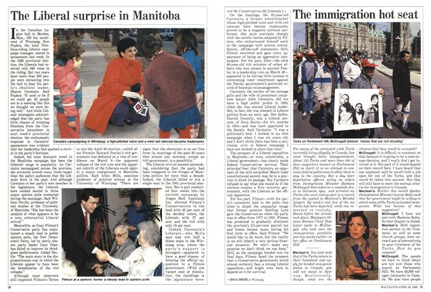Article Preview: The Liberal surprise in Manitoba, April 1988 | Maclean's