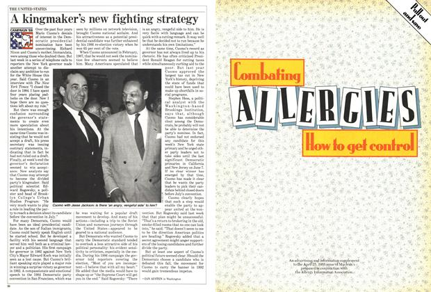 Article Preview: A kingmaker's new fighting strategy, April 1988 | Maclean's