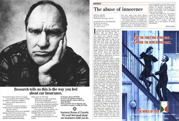 Article Preview: The abuse of innocence, April 1988 | Maclean's