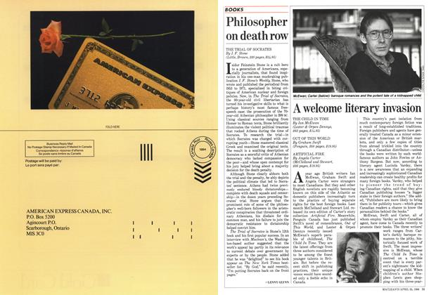Article Preview: A welcome literary invasion, April 1988 | Maclean's