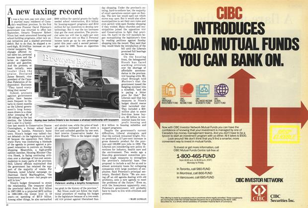 Article Preview: A new taxing record, May 1988 | Maclean's