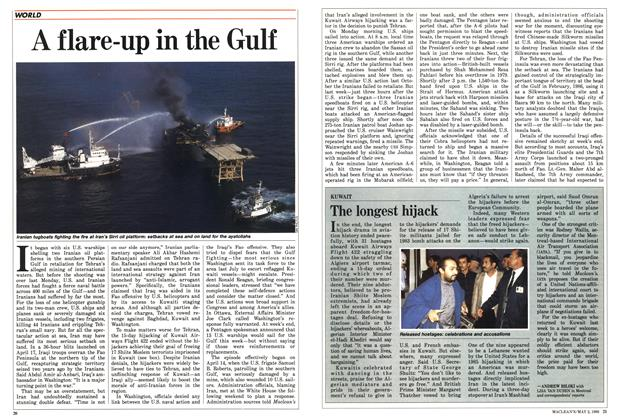 Article Preview: A flare-up in the Gulf, May 1988 | Maclean's