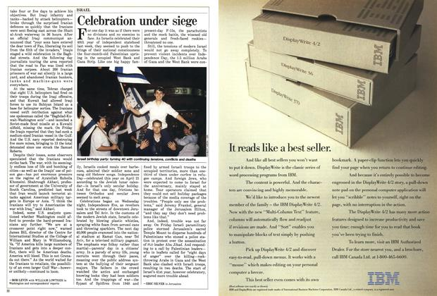 Article Preview: Celebration under siege, May 1988 | Maclean's