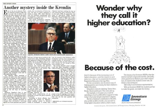 Article Preview: Another mystery inside the Kremlin, May 1988 | Maclean's