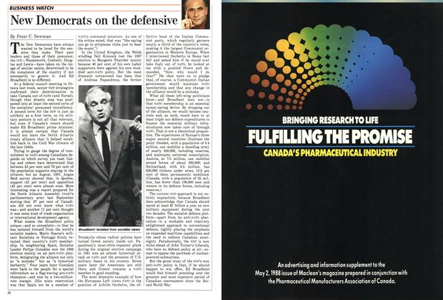 Article Preview: New Democrats on the defensive, May 1988 | Maclean's