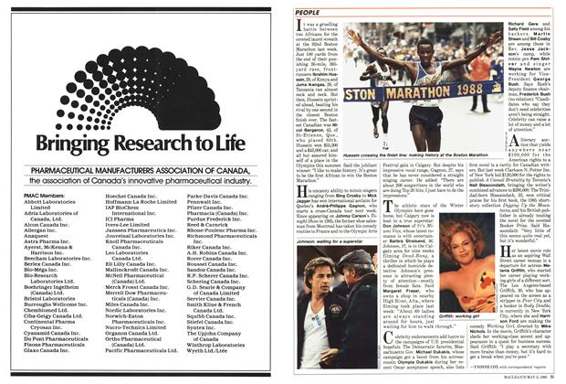 Article Preview: PEOPLE, May 1988 | Maclean's