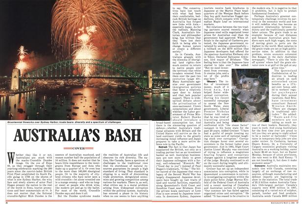 Article Preview: AUSTRALIA'S BASH, May 1988 | Maclean's