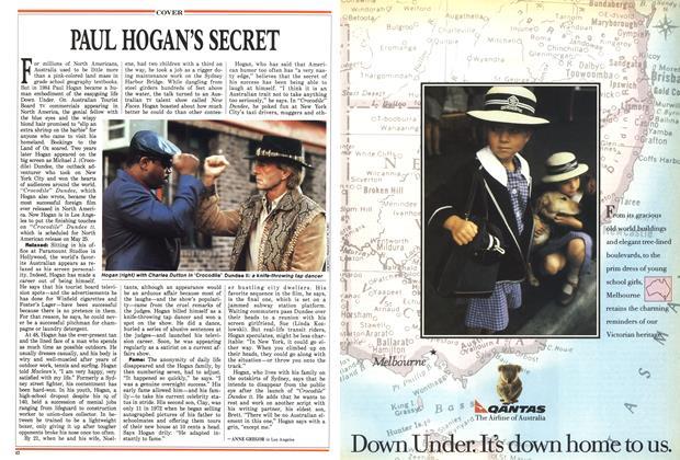 Article Preview: PAUL HOGAN'S SECRET, May 1988 | Maclean's