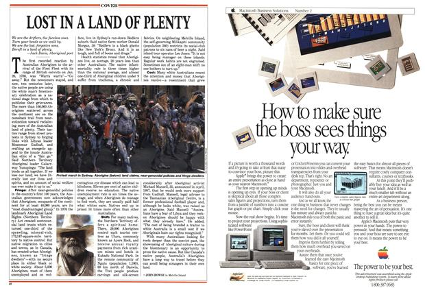 Article Preview: LOST IN A LAND OF PLENTY, May 1988 | Maclean's