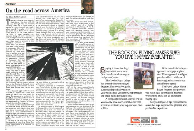 Article Preview: On the road across America, May 1988 | Maclean's