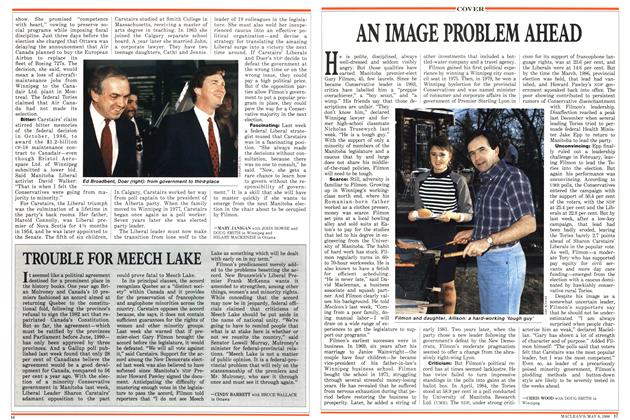 Article Preview: AN IMAGE PROBLEM AHEAD, May 1988 | Maclean's