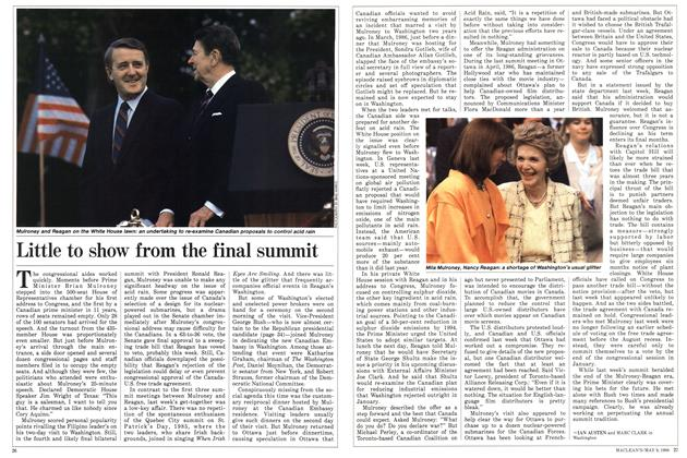 Article Preview: Little to show from the final summit, May 1988 | Maclean's