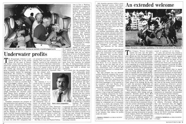 Article Preview: An extended welcome, May 1988 | Maclean's
