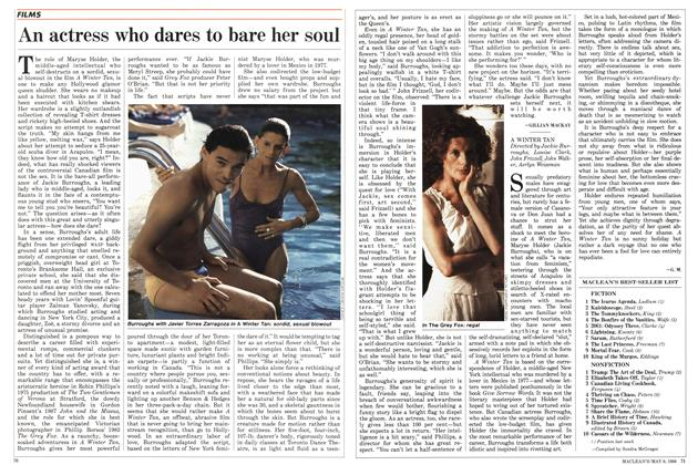 Article Preview: An actress who dares to bare her soul, May 1988   Maclean's