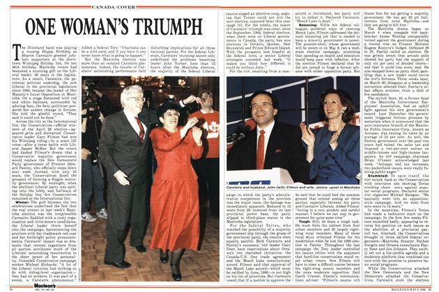 Article Preview: ONE WOMAN'S TRIUMPH, May 1988 | Maclean's
