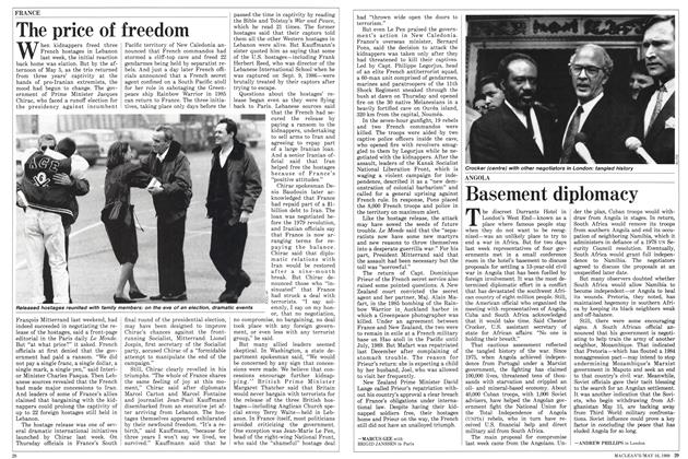 Article Preview: The price of freedom, May 1988 | Maclean's