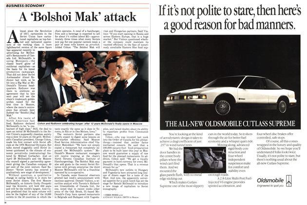 Article Preview: A 'Bolshoi Mak' attack, May 1988 | Maclean's