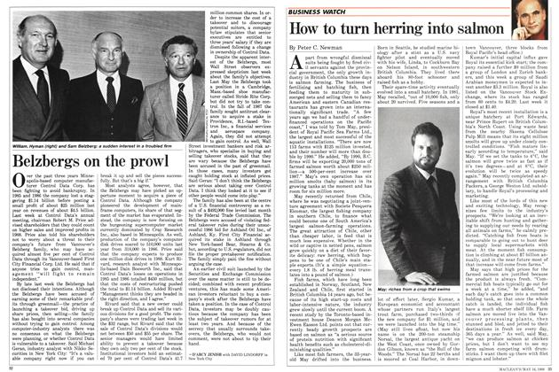 Article Preview: Belzbergs on the prowl, May 1988 | Maclean's