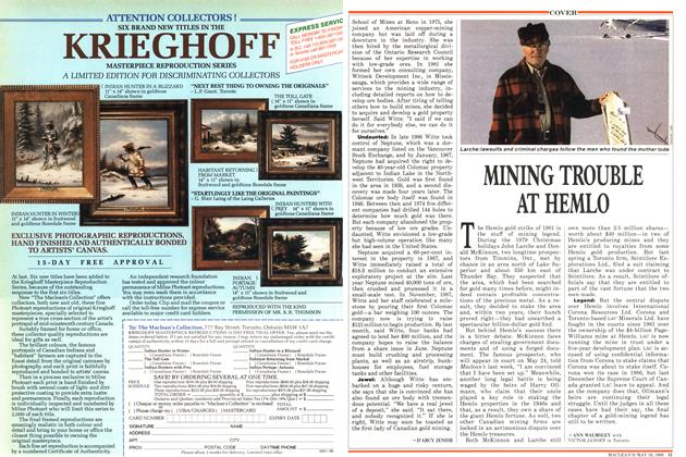 Article Preview: MINING TROUBLE AT HEMLO, May 1988 | Maclean's