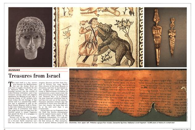 Article Preview: Treasures from Israel, May 1988 | Maclean's