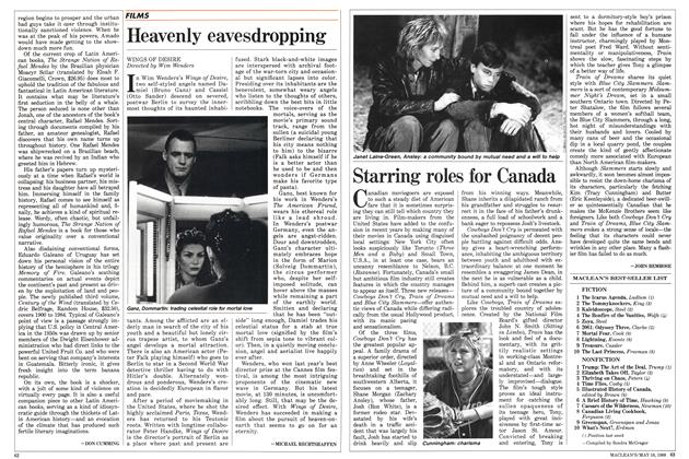 Article Preview: Starring roles for Canada, May 1988 | Maclean's