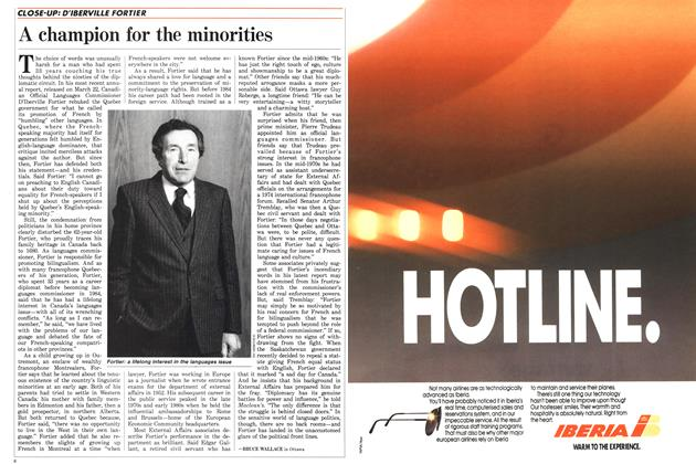 Article Preview: A champion for the minorities, May 1988 | Maclean's