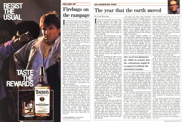Article Preview: Firebugs on the rampage, May 1988 | Maclean's