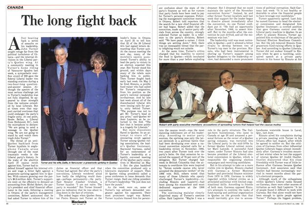 Article Preview: The long fight back, May 1988 | Maclean's