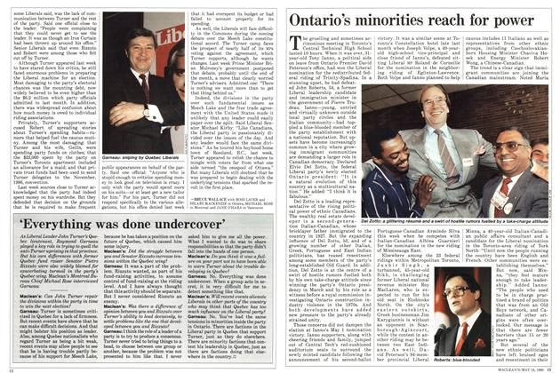 Article Preview: Ontario's minorities reach for power, May 1988 | Maclean's