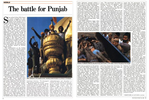 Article Preview: The battle for Punjab, May 1988 | Maclean's