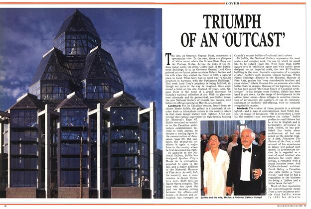 Article Preview: TRIUMPH OF AN 'OUTCAST', May 1988 | Maclean's
